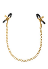 Gold Chain Nipple Clamps