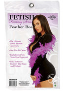 Ff Feather Boa Purple - (disc)