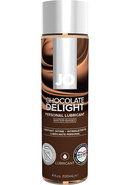 Jo H2o Flavored Lube Chocolate 4oz