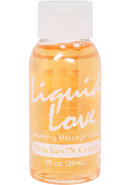 Liquid Love 1oz Peaches N Cream