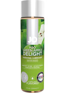 Jo H2o Flavored Lube Green Apple 4oz