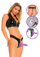 Ff Purple Delight Hollow Strap On(disc)