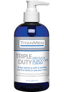 Titanmen Triple Duty Jack Off Cream 8oz