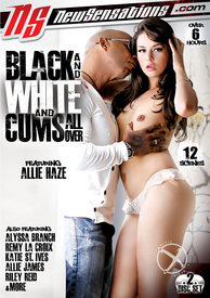 Black and White and Cums All Over {dd}