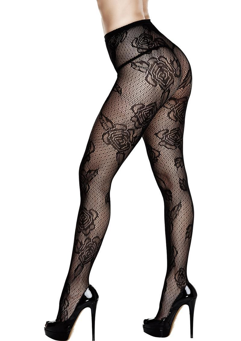 Lace Pantyhose-queen